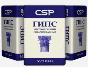"""Высокопрочный формовочный гипс Г-22 (ГВВС-22) """"CSP"""""""